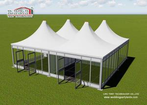 China 5x5m Small Modular Tents For Receiption With PVC Walls on sale