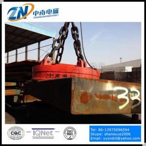 China Circular Lifting Electromagnet for Steel Thick Plate Lifting MW03-110L/1 on sale