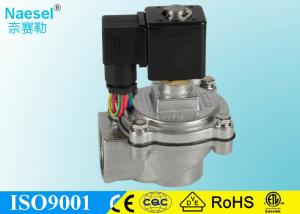 China 4 Inch Explosion Proof Solenoid Valve , 0.3 - 0.8Mpa Remote Control Solenoid Valve on sale