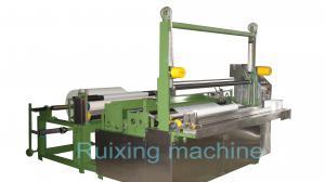 China Um rolo da máquina de corte automática tecida do fio da máquina de Rewinder da talhadeira do papel on sale