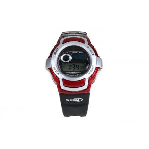 China Multifuction Sport LCD Digital Watch 3 ATM Waterproof Stainless Steel Case Back on sale