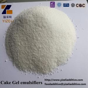 China exporting high technology white powder compound emulsifier cake gel emusifier on sale