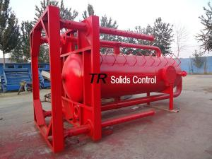 China Mud gas separator Liquid gas separator on sale