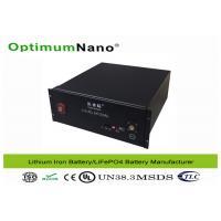 Solar Energy Rechagreable LiFePo4 48V 100Ah Storage Batteries OptimumNano