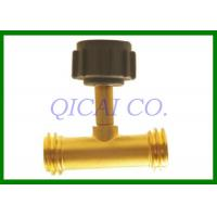 China Gas T Connectors , all kinds of propane tank fittings / accept your design on sale