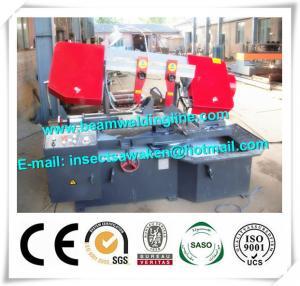 China Emi Auto CNC Plasma Metal Cutting Bandsaw Machine Double Housing on sale