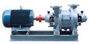 China SK Series Water Ring Vacuum Pumps and Compressors on sale