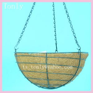 China Wire Hanging Planter on sale