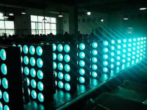 China Led Wash Pixel Matrix Led Beam Light DMX Stage Blinder 5x5 25pc 10w RGBW on sale