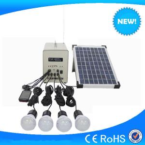 China Best selling 40w solar system with 4pcs 3w led light & radio and MP3 function on sale