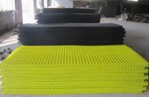 China 48x96 Pvc Coated Welded Mesh Panels For Mink Cage And Warehouse Fencing on sale