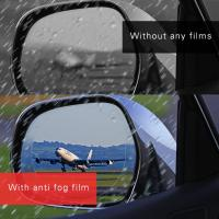 NEW MARKET UV protection anti rain anti oil anti water dust remover safety car ant fog mirror film