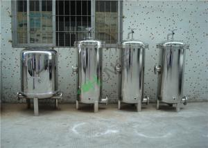 China High Pressure Water Filter Housing , Single Bag Stainless Steel Filter Housing on sale