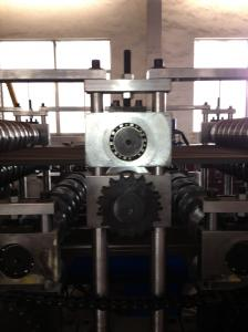 China 7.5kw Double Layer Roll Forming Machine 0.4 - 0.7mm 380V Roll Former Machine on sale