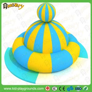 China Inflatable UFO merry go round_Interactive Soft Play Kids indoor electric games on sale