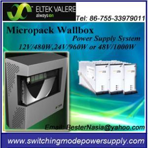 China Eltek Valere Micropack Wallbox Power Supply System 48V/1000W forTelecom on sale