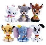 jouets de peluche bourrés grande par bande dessinée de poupée de caractères de Classtic de tête de 8inch Disney molle