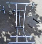 SFD1A Tower Safety Equipment / Inspection Trolleys Cart For Single Conductor Line
