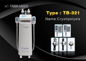 China Cavitation RF Cryolipolysis Slimming Machine For Cellulite Reduce , Fat Freezing Machine on sale