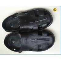 EPA ESD Safety Shoes SPU Sandal Toe Protected 6 Holes Black Blue White Size 36# - 46#