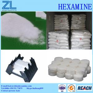 China Hexamine for Solid fuel tablets on sale
