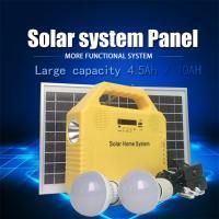 Good quality solar home lighting system with radio bluetooth