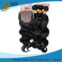 Remy Virgin Brazilian Hair Body Wave , Permanent Human Clip In Hair Extensions