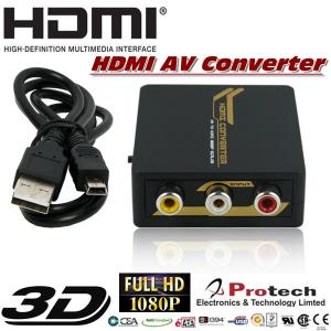 China Mini AV to HDMI Converter support NTSC/ PAL  PETCH on sale