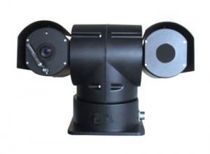 China Network Thermal PTZ Camera , Visible network 30x camera & 50mm thermal camera dual video on sale