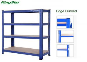 China Blue Upright Boltless Warehouse Shelving 175kg Each Layer Capacity For Industrial on sale