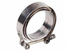 China ISO9001 SUS201 Worm Drive Heavy Duty T Bolt Hose Clamp on sale