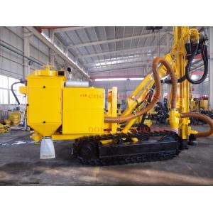 China 200M Deep Hole High Torque Hydraulic DTH Drilling Rig with Diesel Cummins Engine on sale