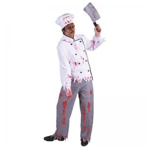 China Halloween Police Party Adult Costumes Costume of Chef Zombie Scary on sale