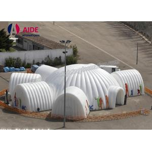 China Large Scale Outdoor Dome Inflatable Tent  Pop Up Shade Tent For Openings on sale