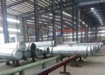 Hot Dip Galvanized Monopole Transmission Tower Conical / Round / Polygonal Shape