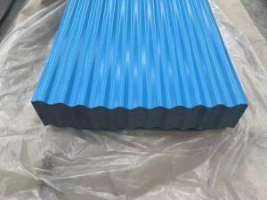 China Color Corrugated Roofing  PrePainted Gi Sheet on sale