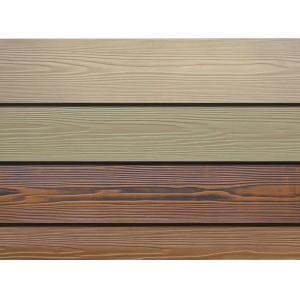 China Non Asbestos Fibre Cement Board Cladding Single / Double Surfaces Sanding on sale