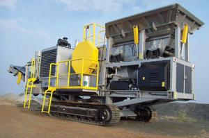 China Mobile lead ore crushing process on sale