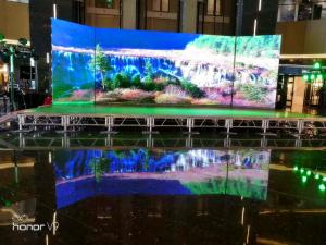China High Intensity Stadium LED Display Screen , Sport Perimeter LED Display For Football , Basketball Game on sale