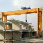 Double Girder Overhead Gantry Crane / 3 Ton 5 Ton 10 Ton Gantry Crane