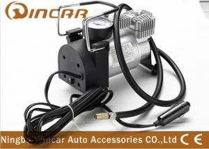 China CE Approved 12V Portable Air Compressor For Car Tire Inflator Over Load Protection on sale