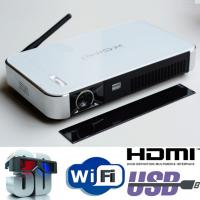 Geat Image Android Wifi Projector 2D To 3D Convert Smart DLP Mini Beamer Proyector HDMI