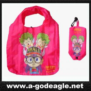 China Reusable folding shopping bag with heat transfer G2045 on sale