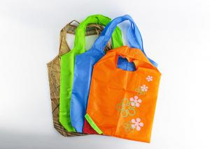 China Fruits Shopping Non Woven Polyester Tote Bags , Polyester Reusable Grocery Bags on sale