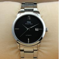 Prosver dani Silver Stainless Steel Mens Watches With Transparent Caseback