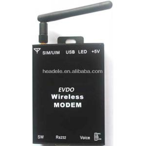 China WCDMA EVDO 3g modem with band 800MHz and  DL 3.1MBps ,UL1.8MBps on sale