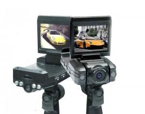 China Car Camera CCB028PT -2.0TFT LCD Dual Lens Night Vision Car Camera Vehicle DVR on sale
