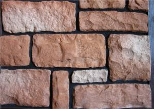 China Lightweight Faux Stone Panels Interior Wall , Faux Veneer Stone For Villa / Hotel Hall on sale