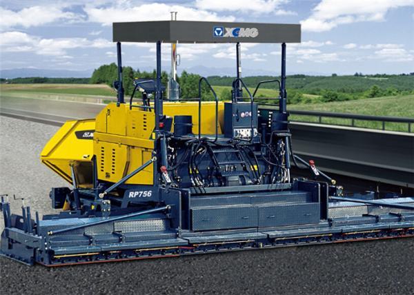 Road Construction Machine Asphalt Paver Finisher Equipment