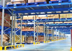 China Steel Heavy Duty Storage Shelving , Cold Warehouse Industrial Pallet Racking on sale